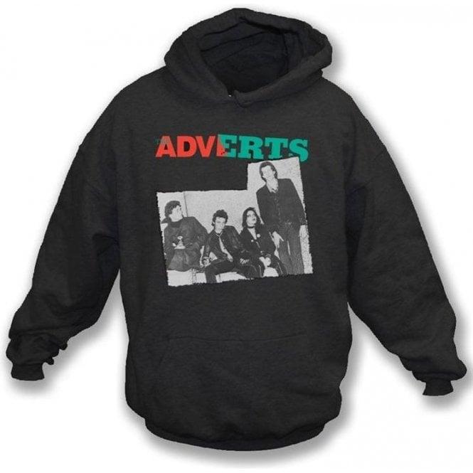 The Adverts - Band photo Hooded Sweatshirt