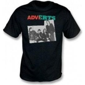 The Adverts - Band photo T-shirt