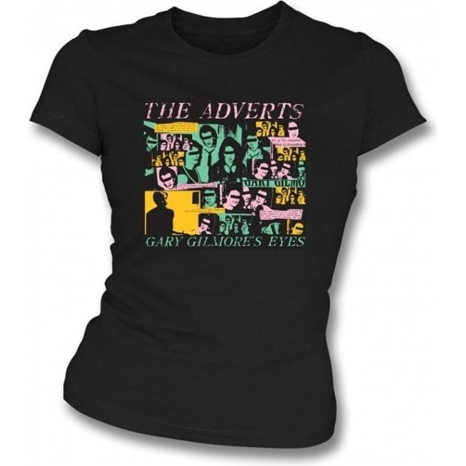 The Adverts - Gary Gilmour's Eyes girls slimfit t-shirt