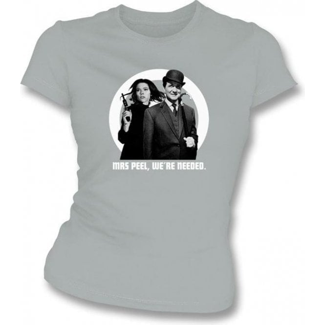 The Avengers 60's Photo Womens Slim Fit T-Shirt