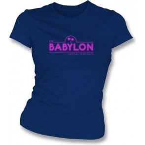 The Babylon Nightclub (Inspired by Scarface) Womens Slim Fit T-Shirt