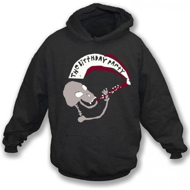 The Birthday Party (Nick Cave) Mr Clarinet Hooded Sweatshirt