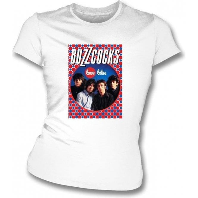 The Buzzcocks Love Bites Womens Slimfit T-shirt