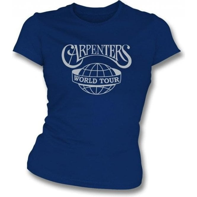 The Carpenters World Tour Girl's Slim-Fit T-shirt