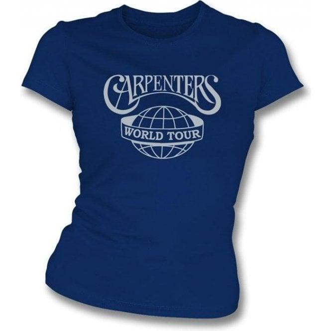 The Carpenters World Tour Girl's Slim-Fit T-shirt