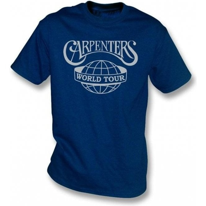 The Carpenters World Tour T-shirt