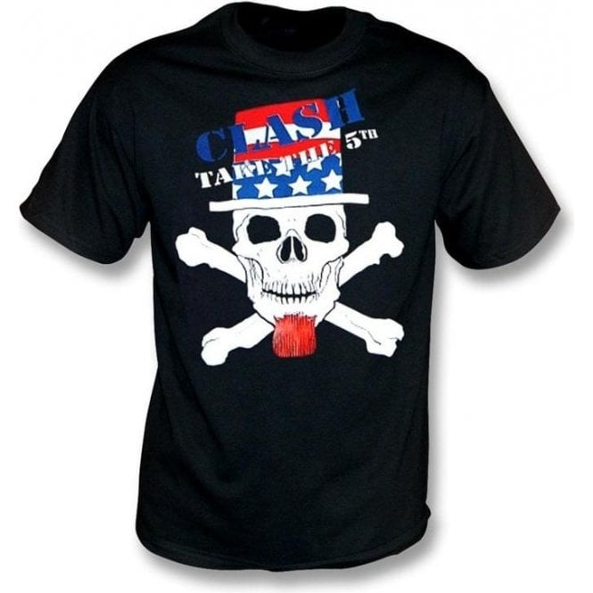 The Clash - Skull Take The 5th T-shirt