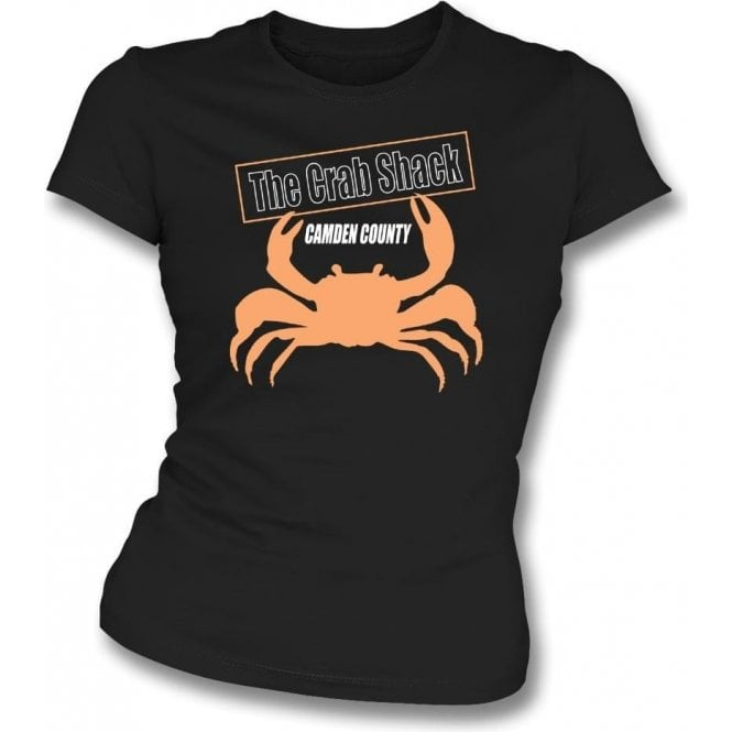 The Crab Shack (Inspired by My Name Is Earl) Womens Slim Fit T-Shirt