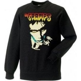 The Cramps Lux Interior Face Sweatshirt