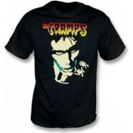 The Cramps Lux Interior Face T-Shirt