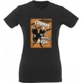 The Cramps Monster Bash Womens Slim Fit T-Shirt