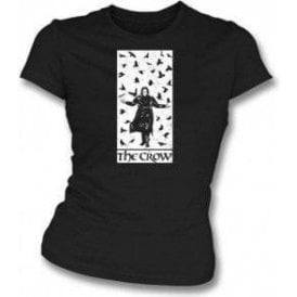 The Crow (Alternative Poster) Womens Slim Fit T-Shirt