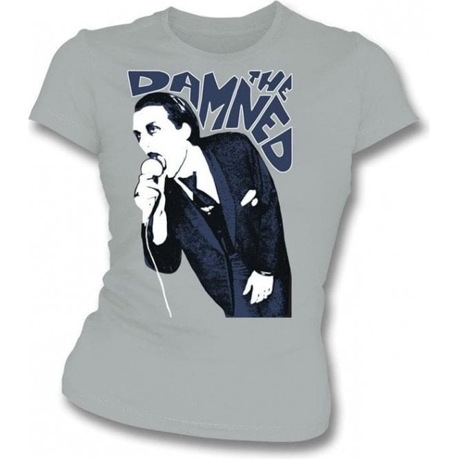 The Damned 1976 Girl's Slim-Fit T-shirt