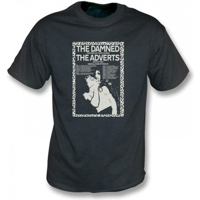 The Damned Can Now Play 3 Chords Vintage Wash T-shirt