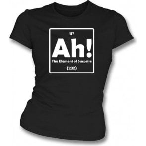 The Element of Surprise Womens Slim Fit T-Shirt