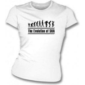 The Evolution of Ska Womens Slimfit T-Shirt