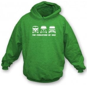 The Evolution of Van VW Campervan Hooded Sweatshirt
