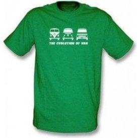 The Evolution of Van VW Campervan T-shirt
