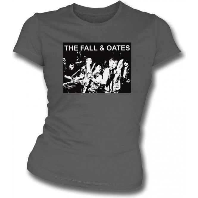 The Fall & Oates Womens Slim Fit T-Shirt