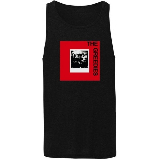 The Greedies Band Photo (Thin Lizzy, Sex Pistols, Phil Lynott) Mens Tank Top