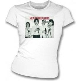The Heartbreakers Poster Womens Slim Fit T-Shirt