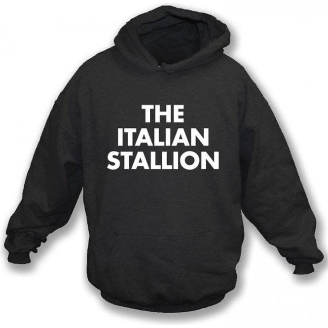The Italian Stallion (As Worn By Johnny Thunders, New York Dolls) Hooded Sweatshirt