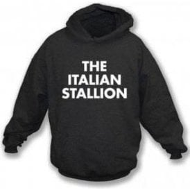 The Italian Stallion (As Worn By Johnny Thunders, New York Dolls) Hooded Sweatshirt