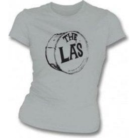 The La's Drum Grey Womens Slim Fit T-Shirt