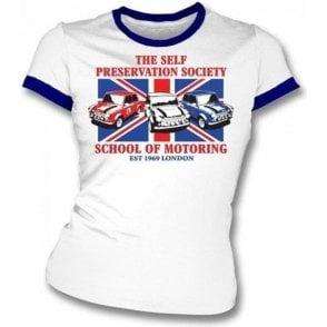 The Self Preservation Society School of Motoring (Italian Job) Girl's Slim-Fit