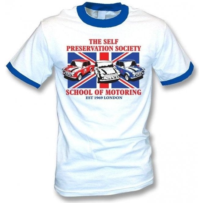 The Self Preservation Society School of Motoring (Italian Job) T-shirt