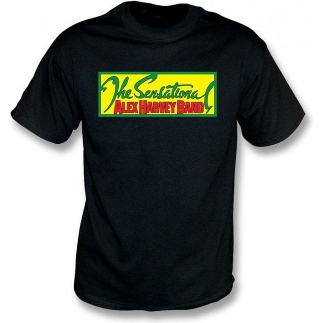 the sensational alex harvey band t shirt