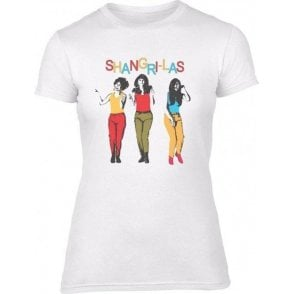 The Shangri-Las (As Worn By Terry Hall, The Specials) Womens Slim Fit Vintage Wash T-Shirt