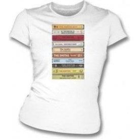 The Smiths - Cassette Tapes Womens Slim Fit T-Shirt