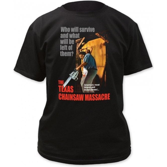 The Texas Chainsaw Massacre - Bizzare & Brutal Crimes! T-Shirt