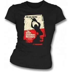 The Texas Chainsaw Massacre Womens Slim Fit T-Shirt