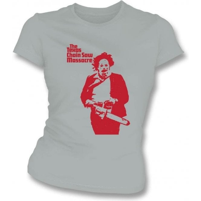 The Texas Chainsaw Massacre (As Worn By Sid Vicious, Sex Pistols) Womens Slim Fit T-Shirt