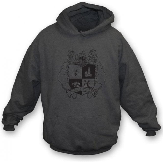 The Young One's 80's TV- Scumbag College Hooded Sweatshirt