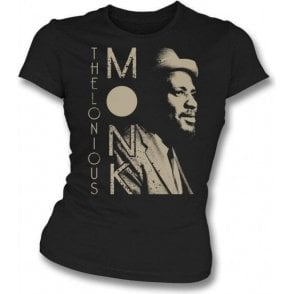 Thelonious Monk Jazz Legend Women's Slim Fit T-shirt