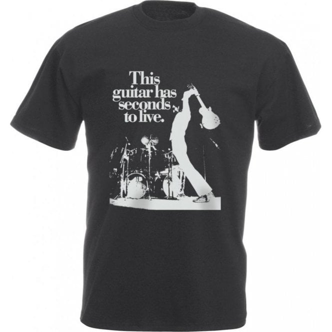 This Guitar Has Seconds To Live Vintage Wash T-Shirt