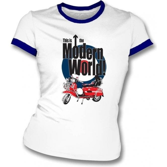 This Is The Modern World! Women's Slim Fit T-shirt