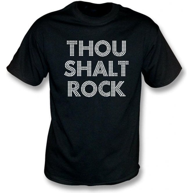 Thou Shalt Rock T-Shirt