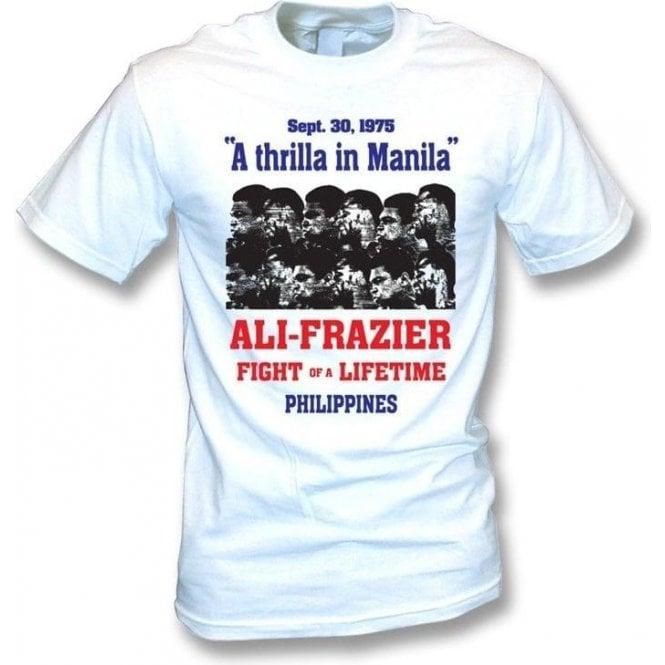 Thrilla in Manila (Ali/Frazier) 1975 Poster T-shirt
