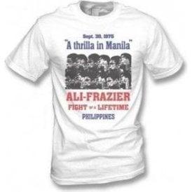 Thrilla in Manila (Ali/Frazier) 1975 Poster Vintage Wash T-shirt