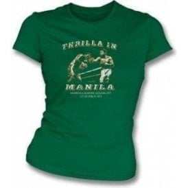 Thrilla in Manila (Ali/Frazier) Girl's Slim-Fit T-shirt