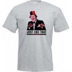 "Tommy Cooper ""Just Like That"" T-Shirt"