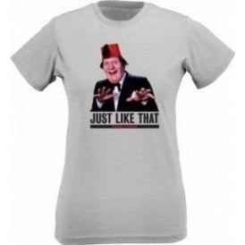"Tommy Cooper ""Just Like That"" Womens Slim Fit T-Shirt"