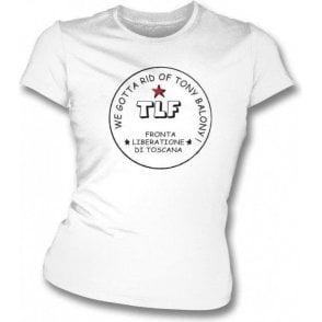 Tony Baloney (as worn by Joe Strummer) girls slimfit t-shirt