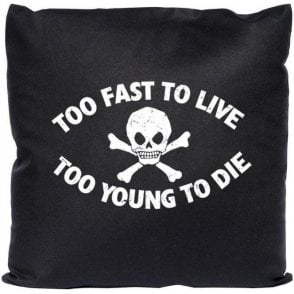 Too Fast To Live (Seditionaries Punk) Cushion