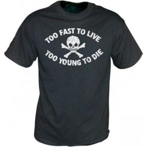 Too Fast To Live (Seditionaries Punk) Vintage Wash T-shirt