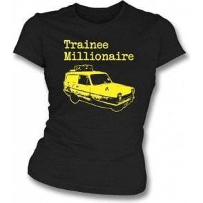 Trainee Millionaire Womens Slim Fit T-Shirt